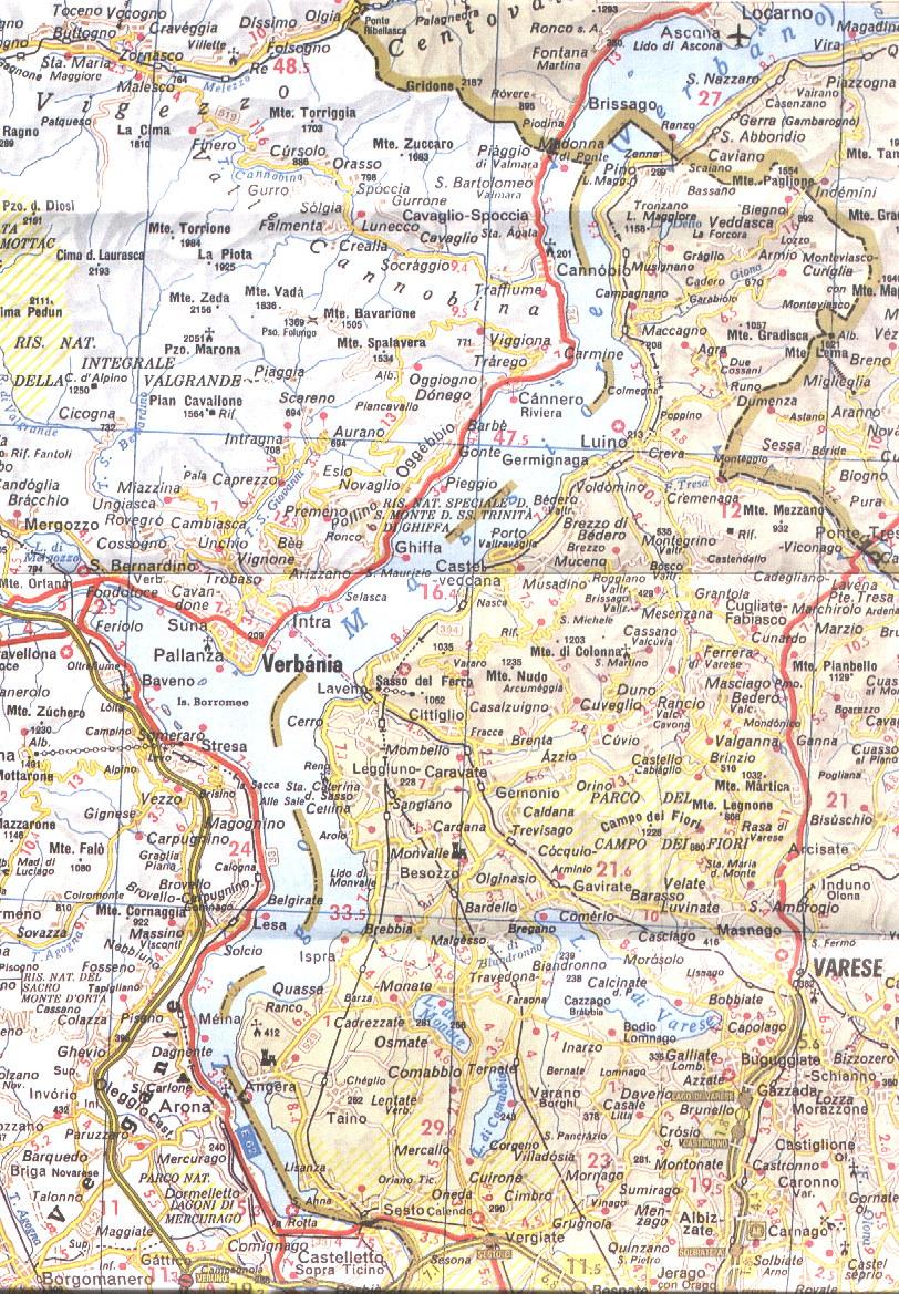 Lago Maggiore Karte.Lago Maggiore